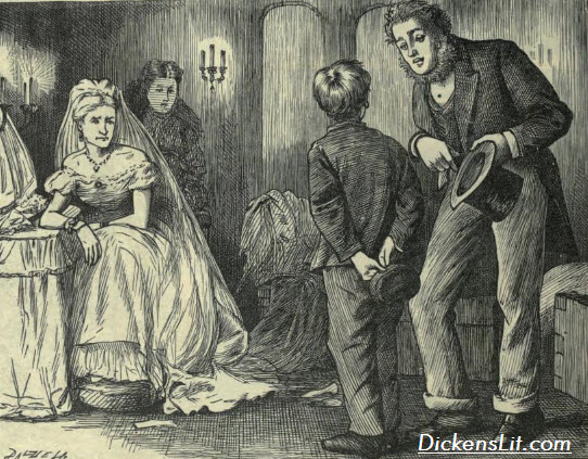 the vengeful miss havisham great expectations essay A short summary of charles dickens's great expectations  miss havisham has raised her to break men's hearts,  where he encounters the vengeful.